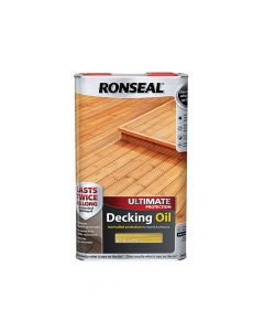 Ronseal Ultimate Protection Decking Oil Natural Pine 5 Litre - RSLUDONP5L