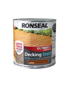 Ronseal Ultimate Protection Decking Stain Cedar 2.5 Litre - RSLUDSCE25L