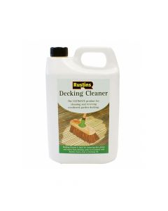 Rustins Decking Cleaner 4 Litre - RUSDECL4L