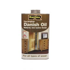 Rustins Original Danish Oil 250ml - RUSDO250
