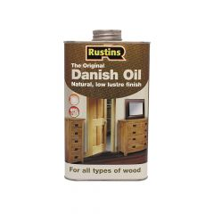 Rustins Original Danish Oil 500ml - RUSDO500