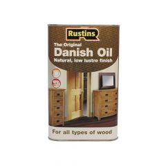 Rustins Original Danish Oil 5 Litre - RUSDO5L