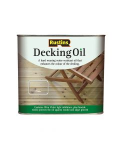 Rustins Decking Oil Clear 5 Litre - RUSDOIL5000