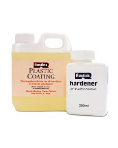 Rustins Plastic Furniture Coating Gloss 1 Litre - RUSFPCGG1L