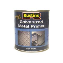 Rustins Galvanized Metal Primer 250ml - RUSGP250