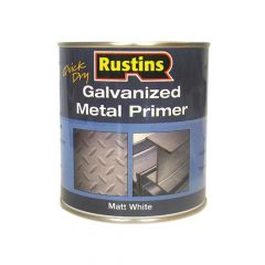 Rustins Galvanized Metal Primer 500ml - RUSGP500