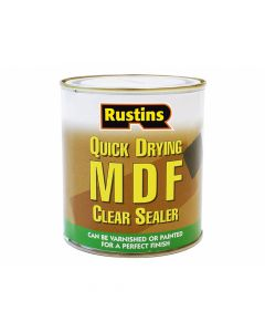Rustins Quick Drying MDF Sealer Clear 250ml - RUSMDFCS250