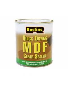 Rustins Quick Drying MDF Sealer Clear 500ml - RUSMDFCS500