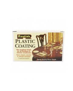 Rustins Plastic Furniture Coating Starter Set - RUSPCOFIT