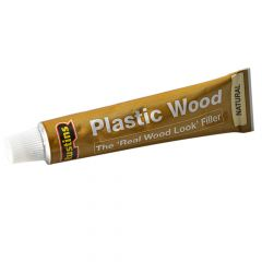 Rustins Plastic Wood Tube Natural 20g - RUSPWTUBEN