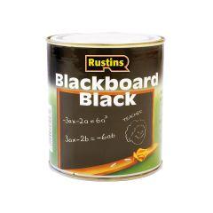 Rustins Quick Dry Blackboard Black 125ml - RUSQDBB125