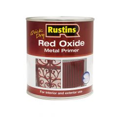 Rustins Quick Dry Red Oxide Metal Primer 500ml - RUSROMP500Q