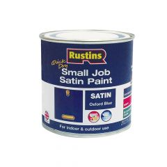 Rustins Quick Dry Small Job Gloss Paint Oxford Blue 250ml - RUSSJPOXBQD