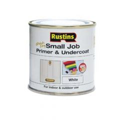 Rustins Small Job Primer & Undercoat White 250ml - RUSSJPUWH250