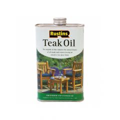 Rustins Teak Oil 5 Litre - RUSTO5L