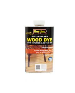 Rustins Quick Dry White Wood Dye 250ml - RUSWDWH250