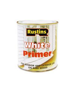 Rustins White Primer 500ml - RUSWP500