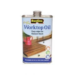 Rustins Worktop Oil 1 Litre - RUSWTO1L