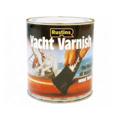 Rustins Yacht Varnish Satin 500ml - RUSYVS500