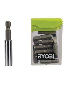 Ryobi Flat Pack Furniture Screwdriver Bit Set 16 Piece - RYBRAK16FP