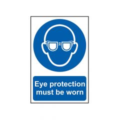Scan Eye Protection Must Be Worn - PVC 200 x 300mm - SCA0007