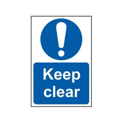 Scan Keep Clear - PVC 200 x 300mm - SCA0253