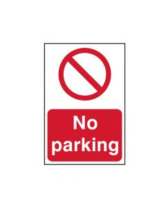 Scan No Parking - PVC 200 x 300mm - SCA0605