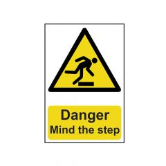 Scan Danger Mind The Step - PVC 200 x 300mm - SCA1105
