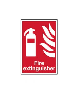 Scan Fire Extinguisher - PVC 200 x 300mm - SCA1350