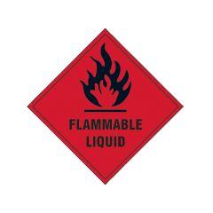 Scan Flammable Liquid SAV - 100 x 100mm - SCA1850S