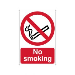 Scan No Smoking - PVC 400 x 600mm - SCA4050