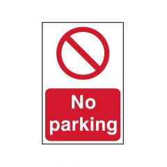 Scan No Parking - PVC 400 x 600mm - SCA4051