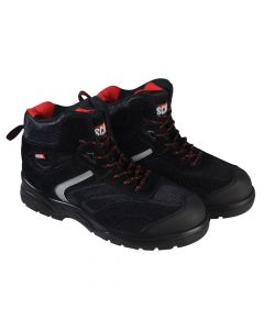 Scan Bobcat Low Ankle Black Hiker Boots UK 12 Euro 47 - SCAFWBOB12