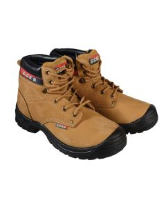 Scan Cougar Nubuck Safety Boots UK 7 Euro 41 - SCAFWCOUG7