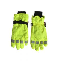 Scan Hi-Visibility Gloves, Yellow - Extra Large - SCAGLOHVISXL