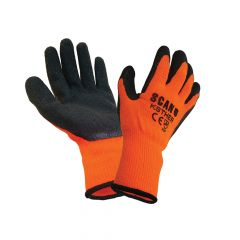 Scan Thermal Latex Coated Gloves Size 9 - SCAGLOKSTHER