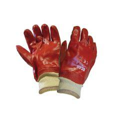 Scan PVC Knitwrist Gloves - SCAGLOPVCKW