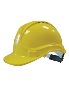 Scan Deluxe Safety Helmet Yellow - SCAPPESHDELY
