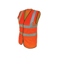 Scan Hi-Vis Waistcoat Orange - XL (48in) - SCAWWHVWXO