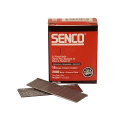 Senco Straight Brad Nails Galvanised 16G x 55mm Pack of 2,000 - SENRX23EAA