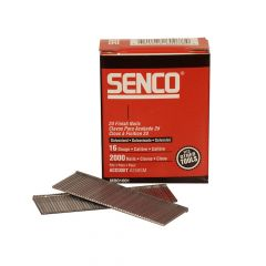 Senco Straight Brad Nails Galvanised 16G x 63mm Pack of 2,000 - SENRX25EAA