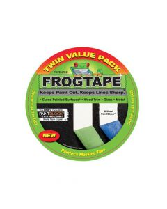 Shurtape FrogTape Multi-Surface Masking Tape 24mm x 41.1m - Twin Pack - SHU104934