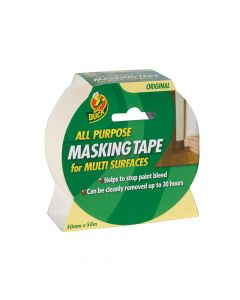 Shurtape Duck Tape All Purpose Masking Tape 50mm x 50m - SHU232206