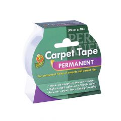 Shurtape Duck TapePermanent Carpet Tape 50mm x 10m - SHU260507