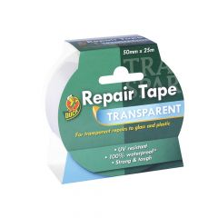 Shurtape Duck Tape Transparent Repair 50mm x 25m - SHU260508