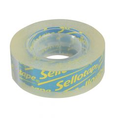 Sellotape Sellotape Clear 18mm x 25m Blister Pack - SLT1569088