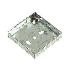 SMJ Metal Box 1 Gang 16mm Depth - Loose - SMJMBB16S
