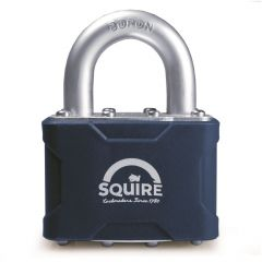 Squire 39KA - Stronglock Pin Tumbler 50mm Laminated Double Locking Padlock - Open Shackle - Keyed Alike