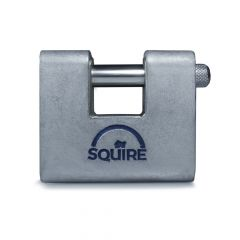 Squire ASWL1 - Warehouse Lock Range - Small 60mm Armoured Brass Block Padlock
