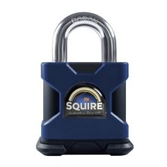 Squire SS50P5MK - Stronghold 50mm Hardened Steel Padlock - Open Shackle - Master Keyed